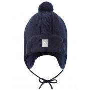 Шерстяная шапочка с баламбоном ERNO