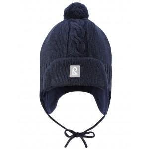 Шерстяная шапочка с баламбоном ERNO*