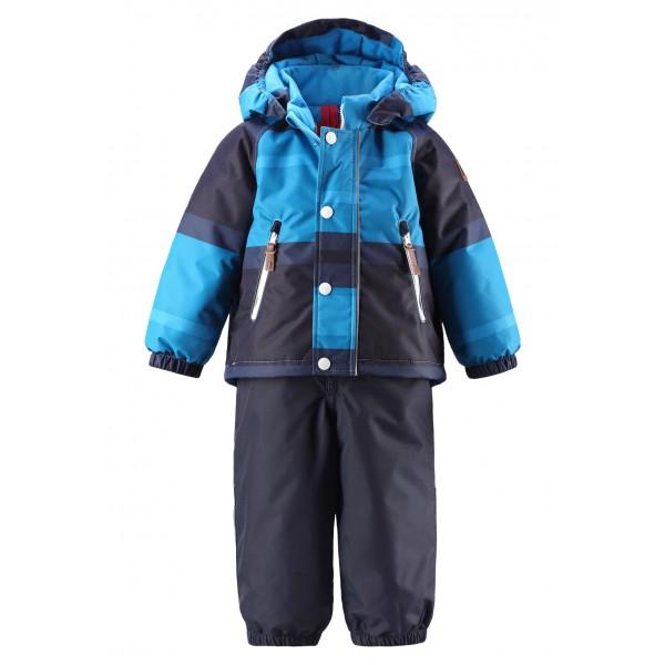 Вся зимняя одежда Рейма имеет конструктивные особенности - светящиеся в темноте элементы и детали одежды