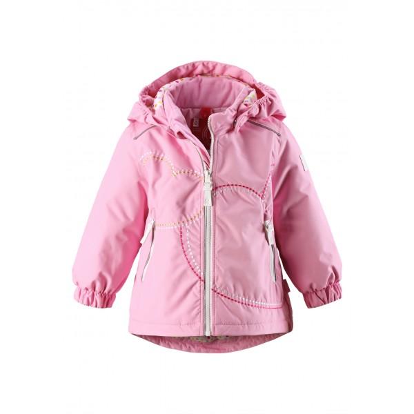 Детская зимняя куртка Reima, модель 511144-4140. . Прекрасная, теплая куртка для девочки выполнена в с